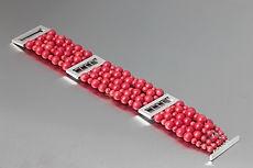 zwei-machen-schmuck-armband-koralle-rot-silber-breit-design-goldschmiede-essen
