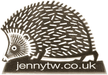This is a favourite image and I use it as my letterhead/logo - as well as in some art prints and lino cut print cushions.
