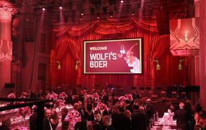 - Wolfis 60er - Diaprojektion mit Livescreenmaske - Odeon Wien.   Konzept, Produktion und ProjektionsTechnik -  MODULUX (Implementierung/Johannes Menneweger bei Lichttapete)  Agentur: yamyam event production KG