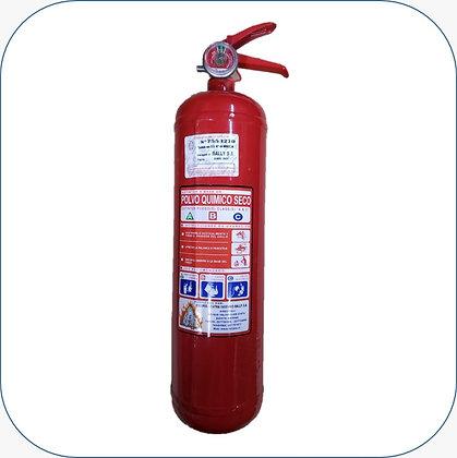 Extintor PQS 02 kg al 75% F.M.