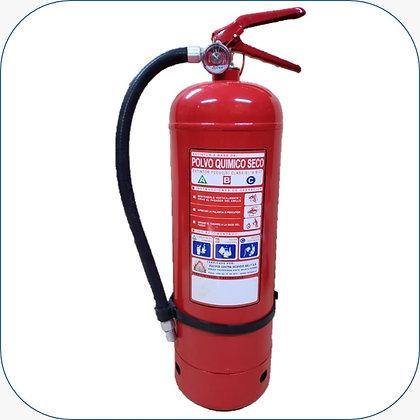 Extintor PQS 10 Kg al 75% F.M.