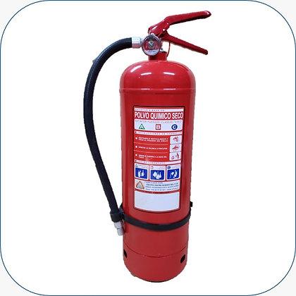 Extintor PQS 06 Kg al 75% F.M.