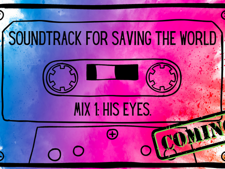 """The History of """"Soundtrack to Save the World"""" or How this mess finally came to be a real book."""