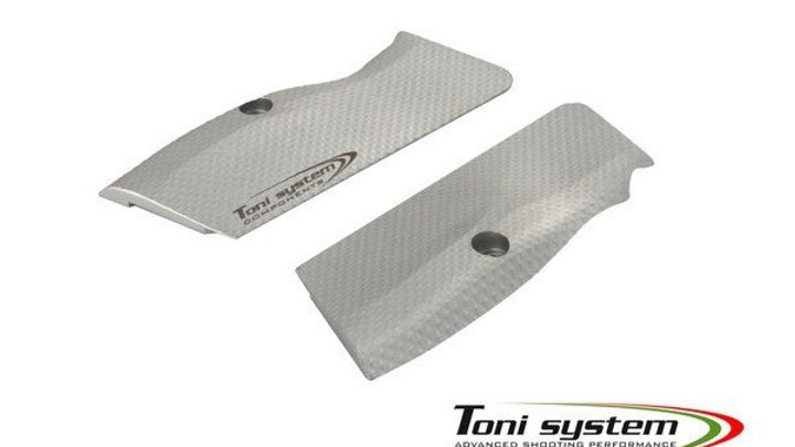 Toni System X3D Grips Long for Tanfoglio Stock II and Stock III.