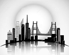 san-francisco-city-skyline-silhouette-ve