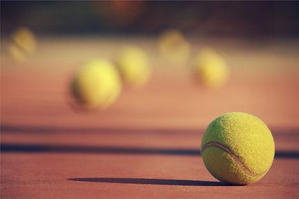 테니스 공들