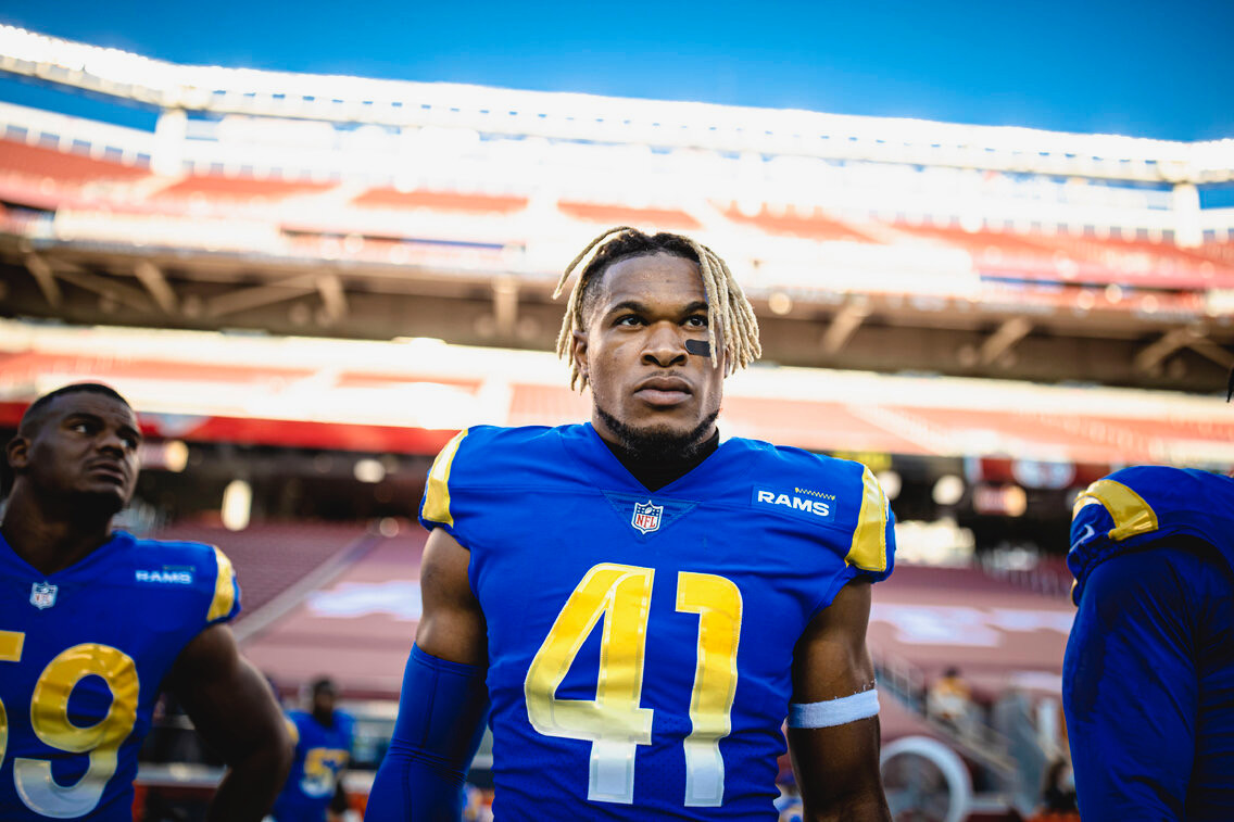 Kenny Young LA Rams