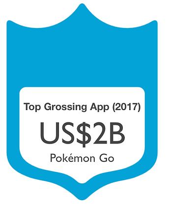 Top Grossing App 2017
