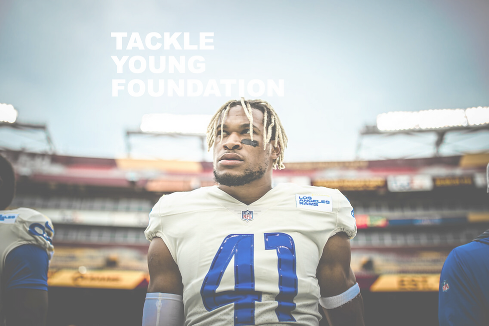 Tackle Young Foundation Hero Banner Cent