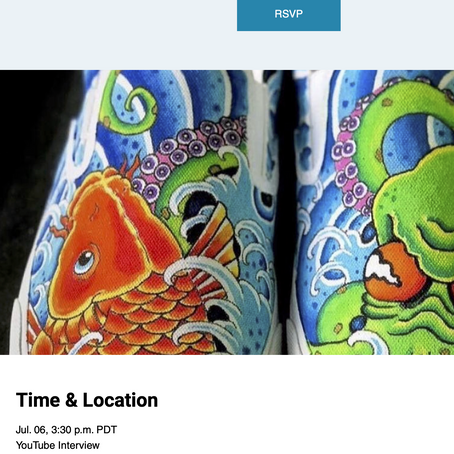 See how #sneakerhead culture is built into ePlay Digital's Klocked and meet artist Chris Clemence