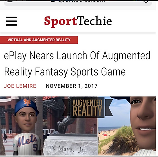 Augmented Reality Sports game