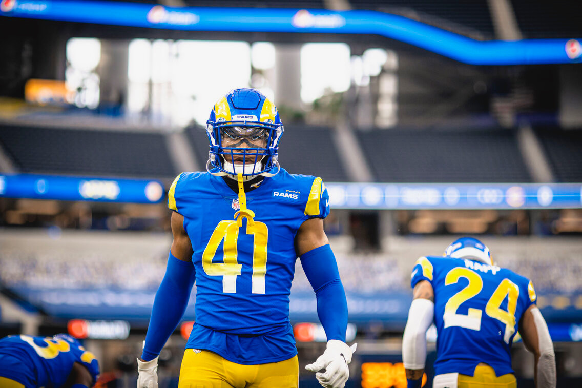 Kenny Young with LA Rams