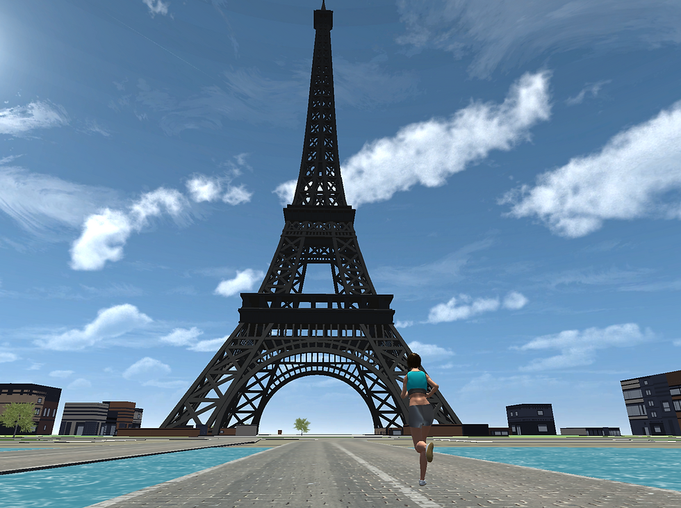 Klocked Paris Eiffel Tower Female Runner.png
