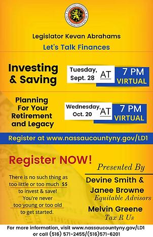 Flyer - Financial Workshop - Let's Talk Finances P1 2021.png