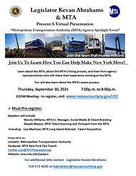 Agency Spotlight  MTA  September 30 2021 DRAFT Flyer.jpg