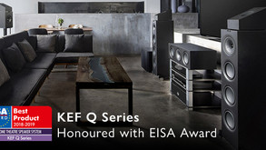 Just announced – KEF Q Series honoured with EISA Award!
