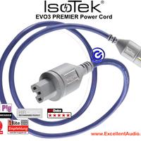Isotek Premier Evo3 1.5 meter kabel listrik Power Cord sln furutec
