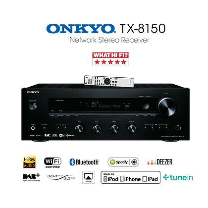 Onkyo TX8150 bluetooth streamer stereo amplifier