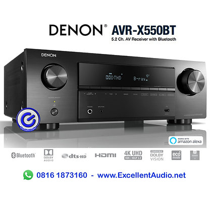 Denon AVRX550BT