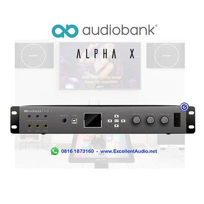 Audiobank AlphaX
