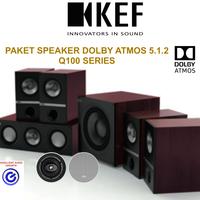 KEF Q100 paket 5.1.2 dolby atmos home theater speaker sln klipsch reve