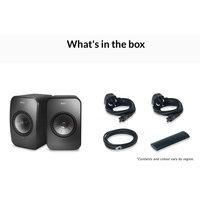KEF LSX wireless active speaker with spotify bluetooth