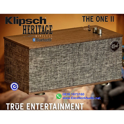 Klipsch The One II bluetooth wireless aktif speaker stereo speaker
