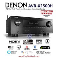 Denon AVRX 2500 AVR X2500 AVRX2500 Dolby Atmos DTS home theatre amplif