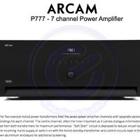 Arcam P777 7 channel power amplifier sln McIntosh Yamaha Rotel NAD