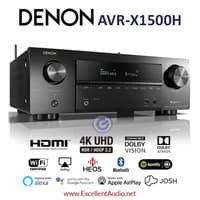 Denon AVR 1500 AVRX1500 AVR X1500 dolby atmos DTS home theatre amplifi