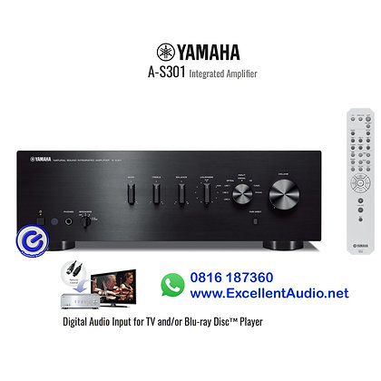 Yamaha AS301 Stereo integrated amplifier