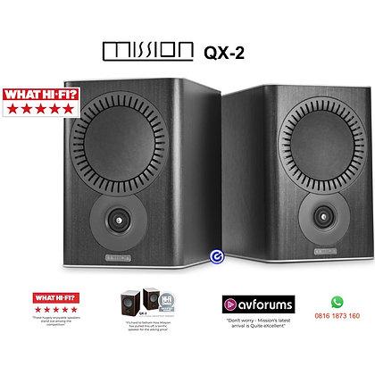 Mission QX2 passive bookshelf speaker