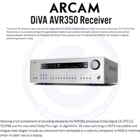 Arcam AVR 350 home theater 7.1ch receiver sln yamaha denon