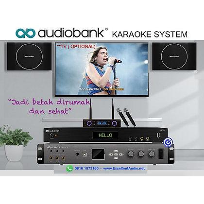 Paket Karaoke Audiobank AB3000 AKS200 ALpha X WMX177 karaoke rumah