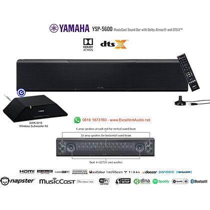 Yamaha YSP5600 Premium Soundbar with wireless subwoofer kit