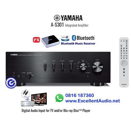Paket Yamaha AS301 stereo amplifier PX Bluetooth transmitter