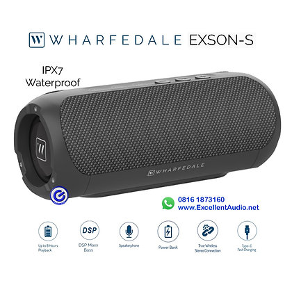 Speaker bluetooth Wharfedale Exson S portable speaker power bank anti air