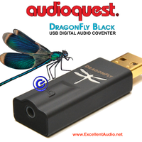 Audioquest Dragonfly black V1.5 plug in USB DAC headphone amplifier