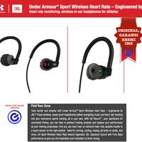 JBL Under Armour Sport wireless heart rate in ear bluetooth headphone