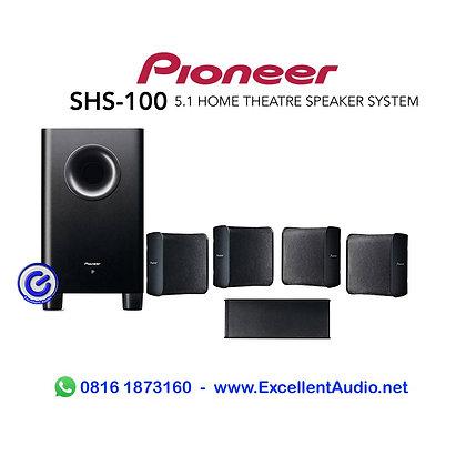 Paket Pioneer SHS100 5.1 channel home theatre speaker system