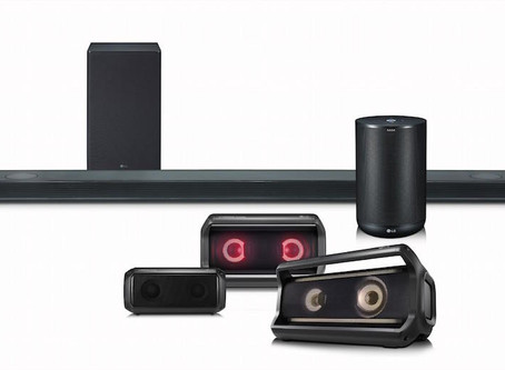 LG kicks off 2018 with new soundbars and smart speakers