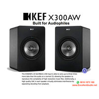 KEF X300 A X300AW X300A XA300 wireless aktif speaker