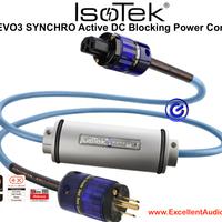 Isotek Synchro Evo3 active DC blocking 2m 15A US plug kabel listrik