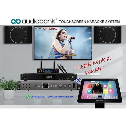 Paket Karaoke Audiobank AB3000 TC100 AKS200 WMX177 Alpha X karaoke set
