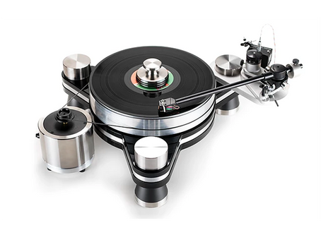 Three VPI Avenger turntables assemble in the UK