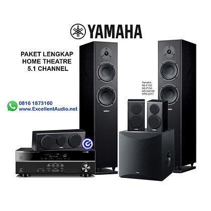 Paket Yamaha HTR 2071 NS SW100 NS F150 NS P150 home theatre 5.1