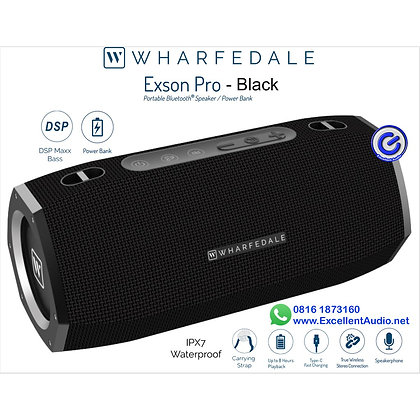 Portable speaker Wharfedale Exson Pro bluetooth speaker power bank
