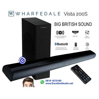 Soundbar Wharfedale Vista 200s Bluetooth wireless subwoofer