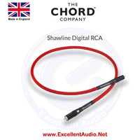 Chord Shawline digital RCA interconnect 1 meter single sln qe mons wir