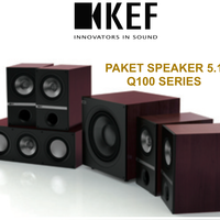 KEF Q100 paket speaker pasif 5.1 sln jbl Q wharfedale denon infinity